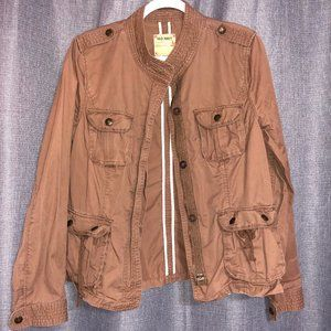Brown Fall Lightweight Utility Jacket-Worn Once